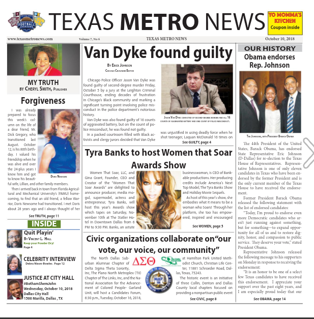 Read the Latest Issue of Texas Metro News on Issuu