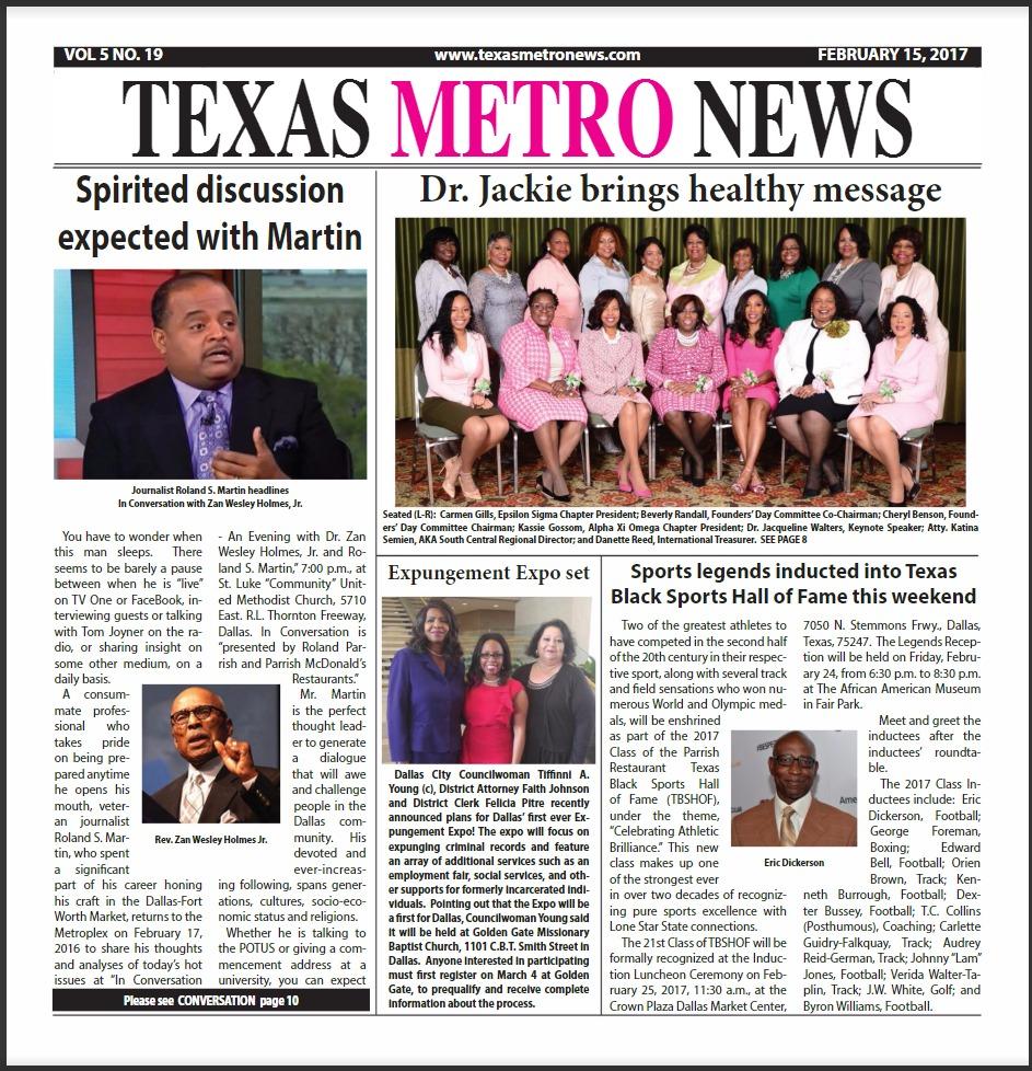 Texas Metro News 2 15 17