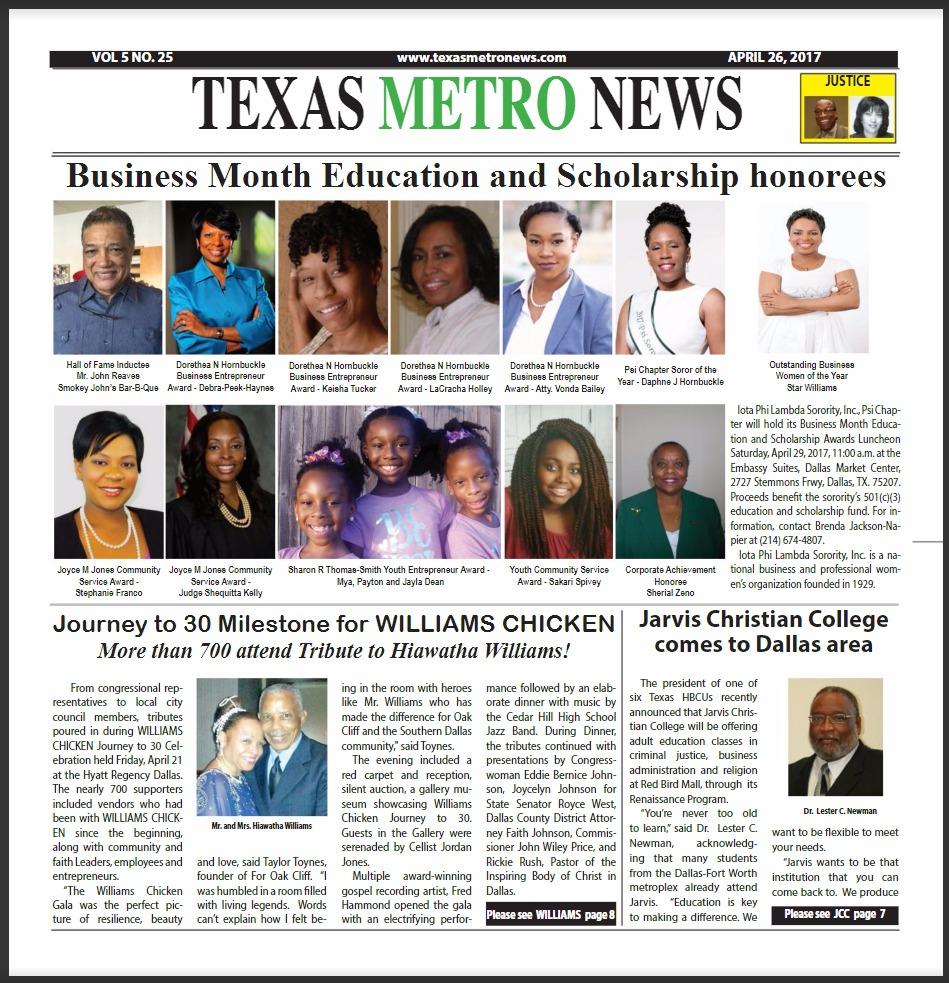 Texas metro news 4 26