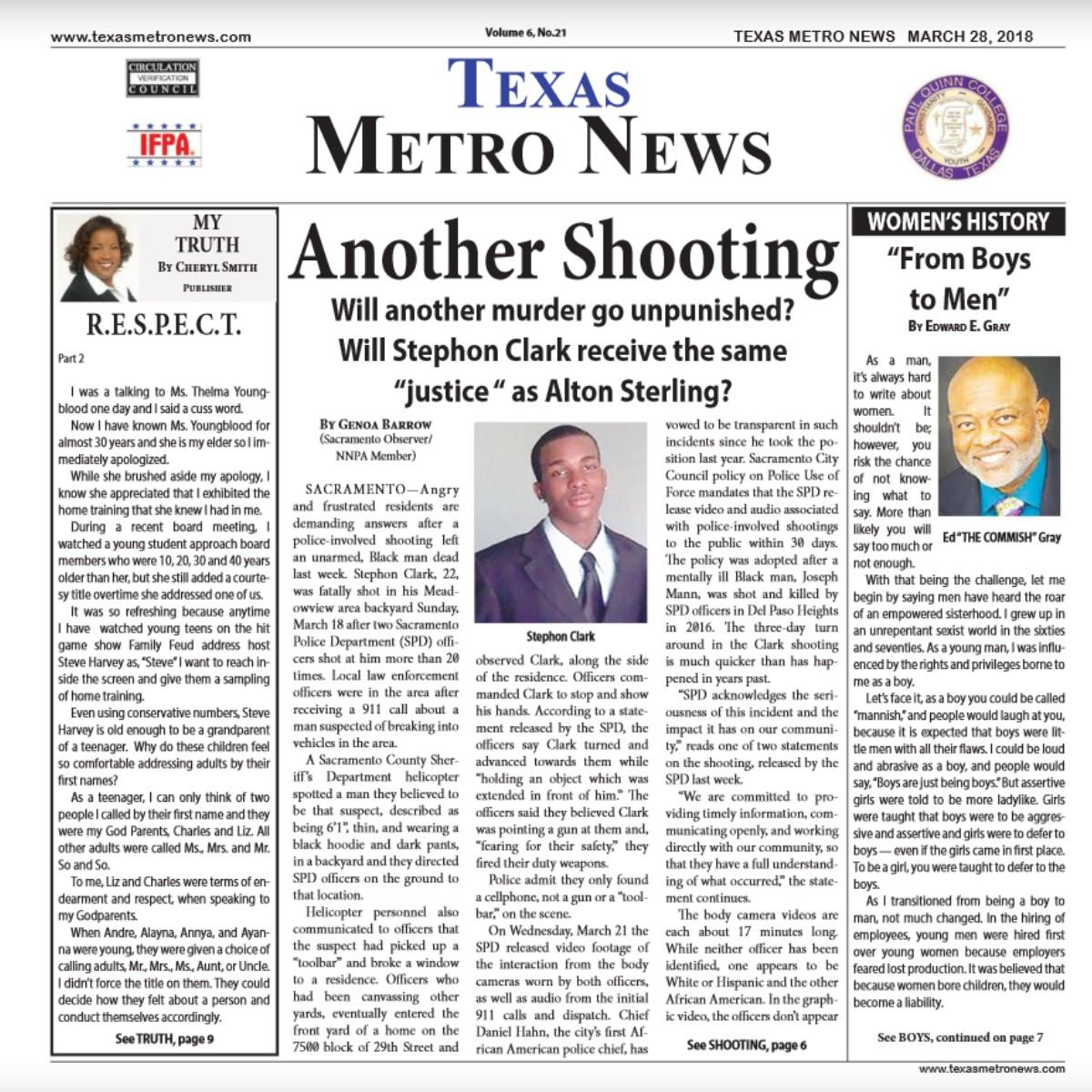 Texas Metro News: 3/28/18