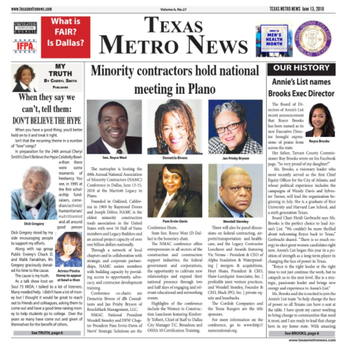 Texas Metro News: 6/13/18