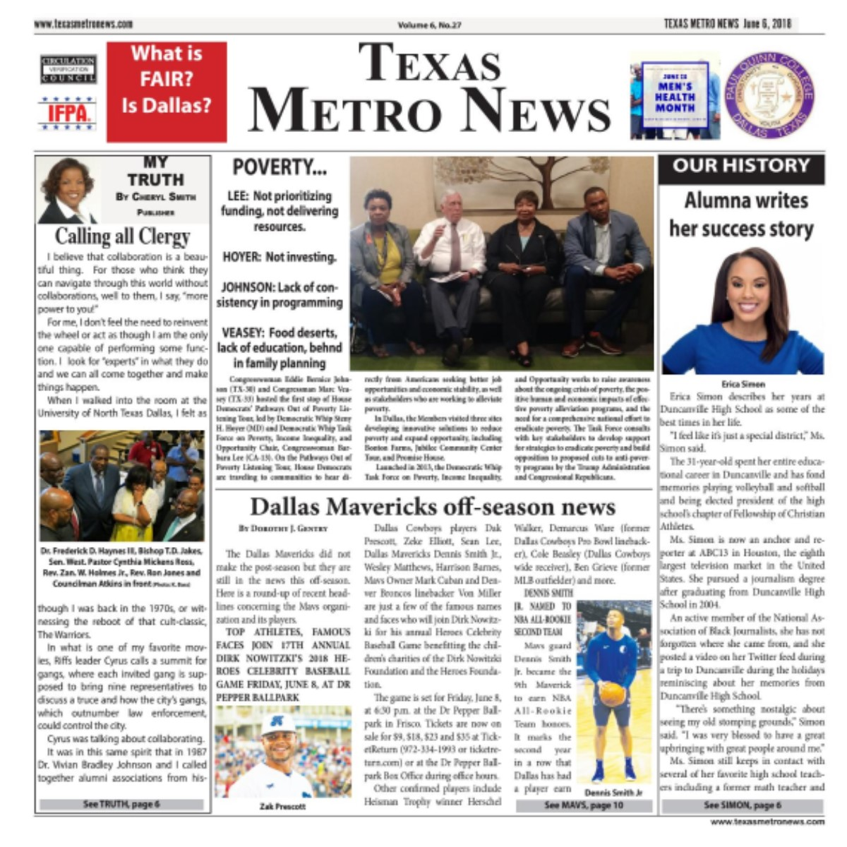 Texas Metro News: 6/6/18