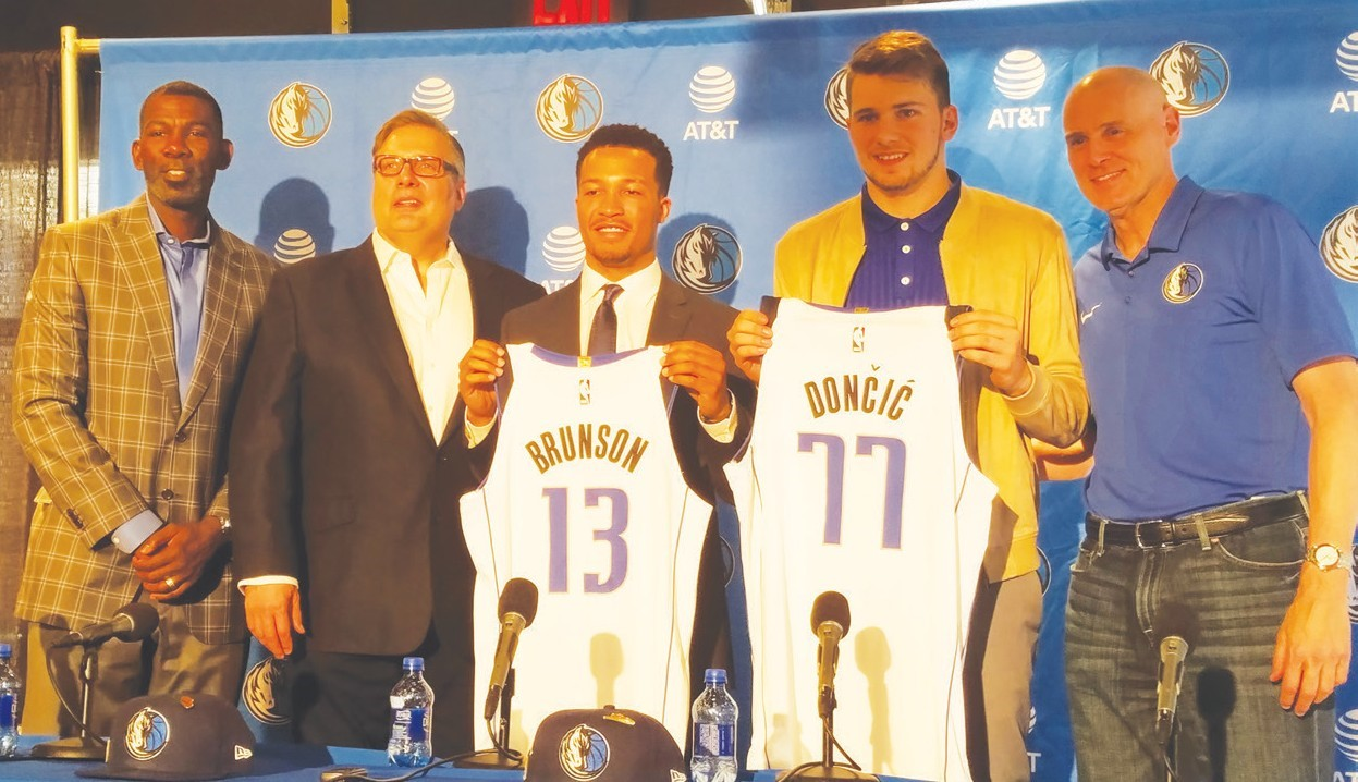 Mavericks Look to the Future in Draft Picks Doncic and Brunson