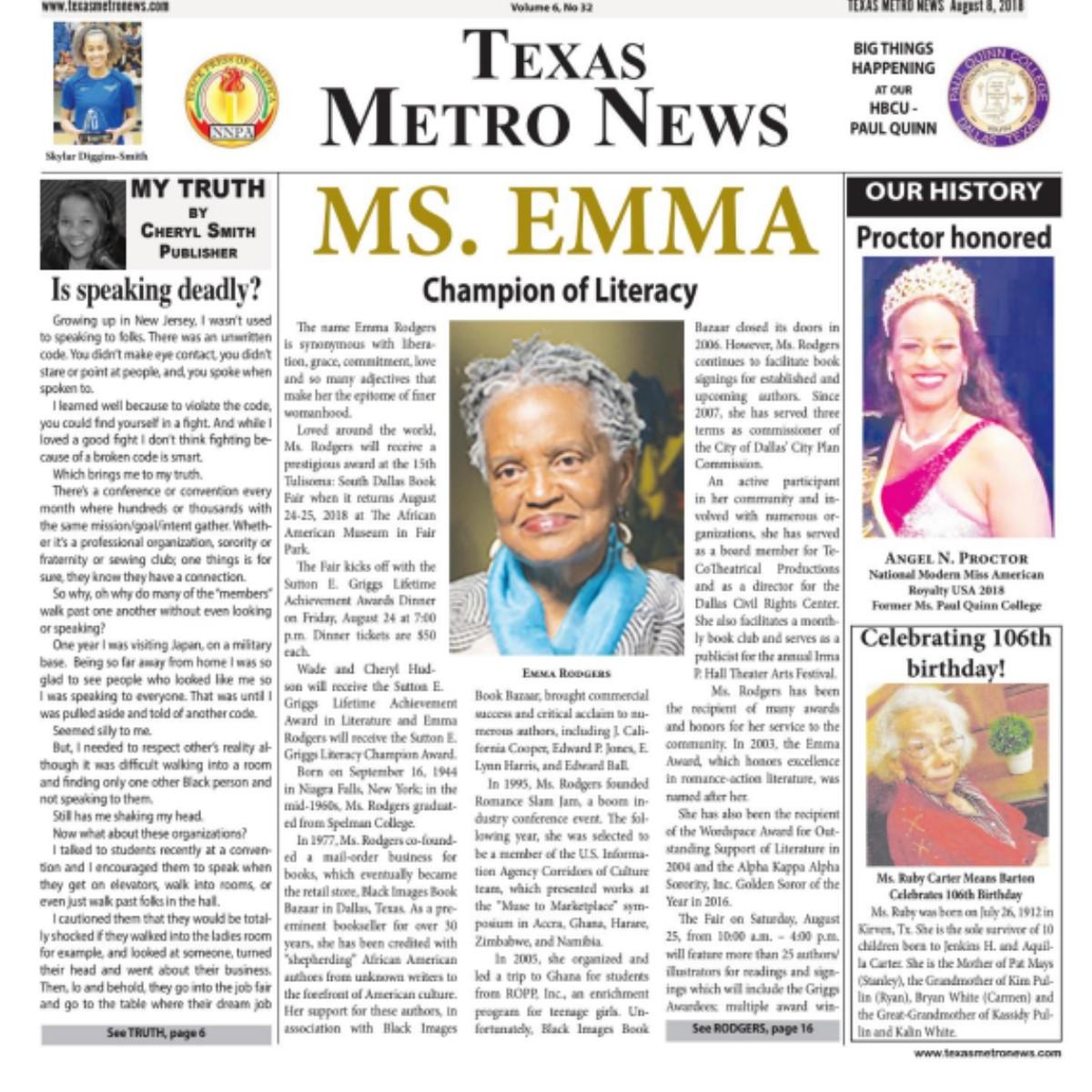 Texas Metro News: 8/8/18