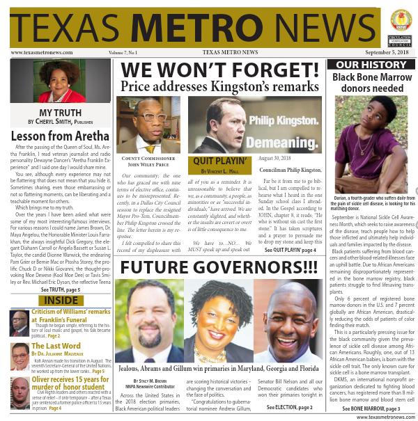 Texas Metro News: 9/5/18