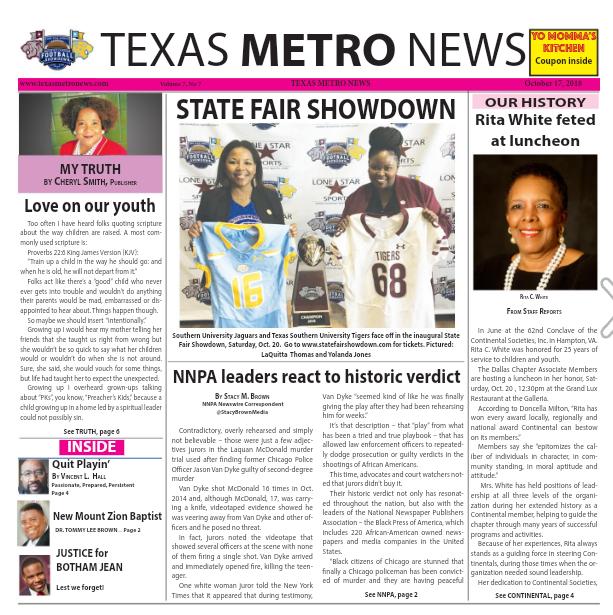 Texas Metro News: 10/17/18
