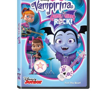 Vampirina: Ghoul Girls Rock Home Entertainment Release Giveaway