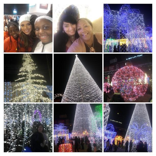 Photo Collage: Enchant Christmas at Globe Life Ball Park