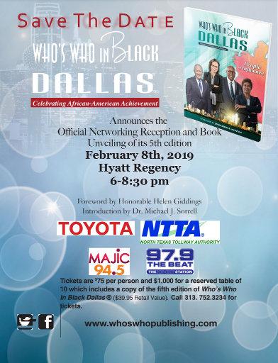 Who's Who in Black Dallas: February 8, 2019
