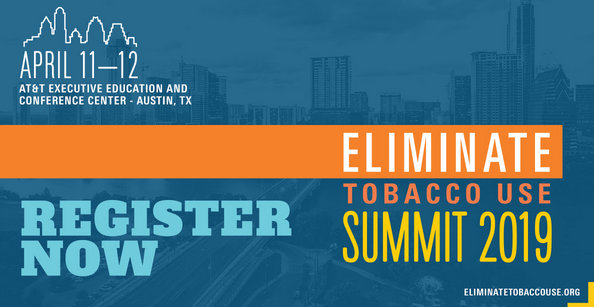 Eliminate Tobacco Use Summit 2019: April 11-12, 2019