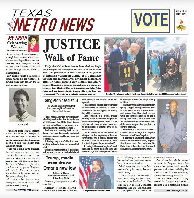 Texas Metro News: 5/1/19