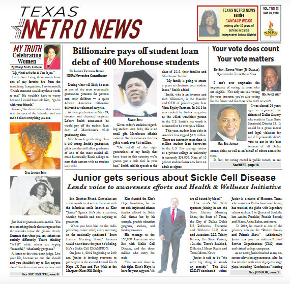 Texas Metro News: 5/29/19