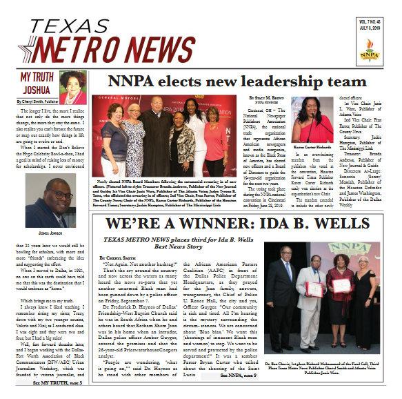 Texas Metro News: 7/3/19