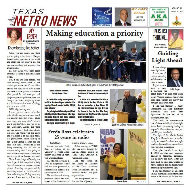 Read the Latest Issue of Texas Metro News on Issuu