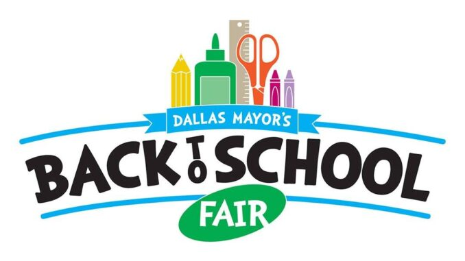 The Back to School Fair is scheduled for August 20-21