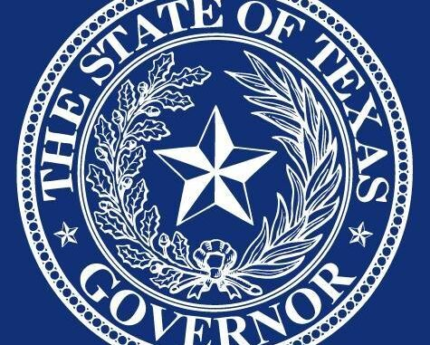 Office of the Governor Greg Abbott Emblem