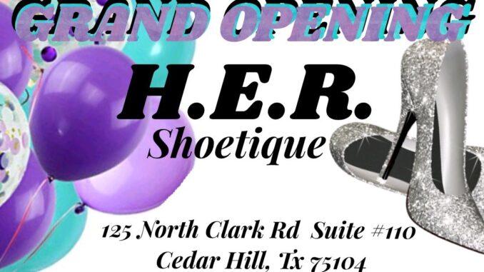H.E.R. Shoetique Grand Opening