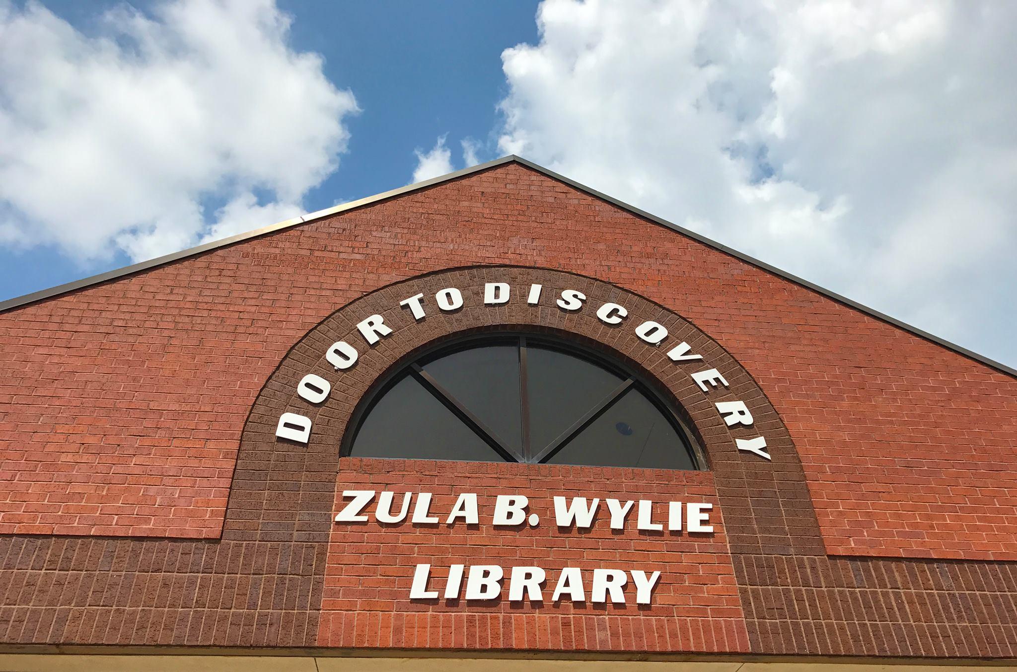 Zula B. Wylie Public Library in Cedar Hill Re-Opens