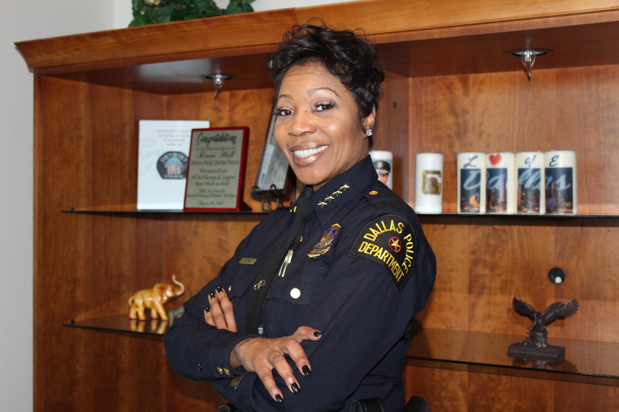 Dallas Police Department Police Chief U. Reneé Hall/ Photo by Eva D. Coleman
