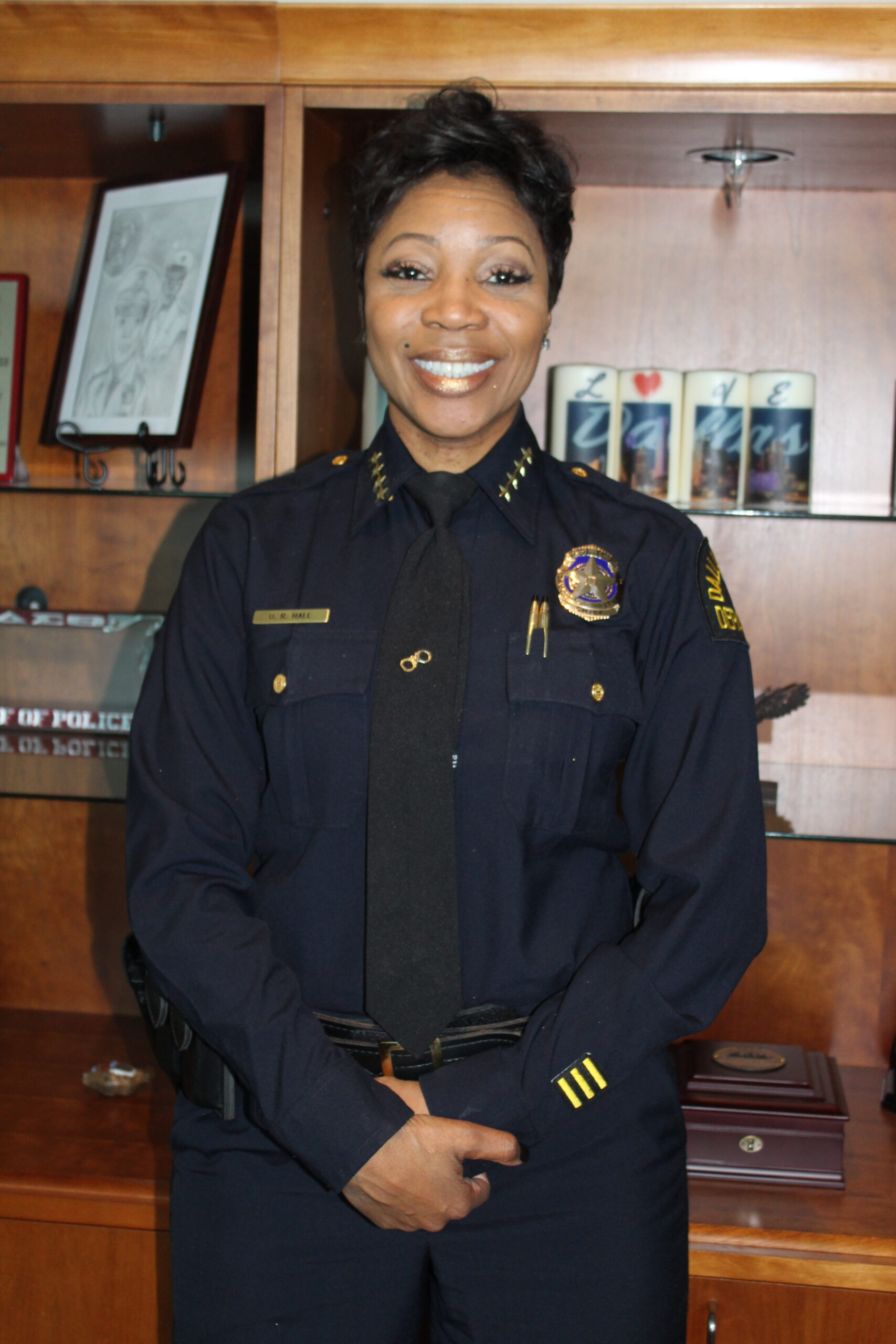 DPD Police Chief U. Reneé Hall/Photo by Eva D. Coleman