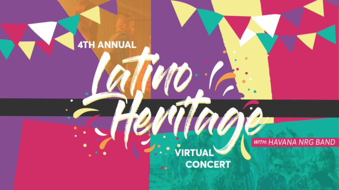 DeSoto Parks and Recreation Presents the Latino Heritage Virtual Concert