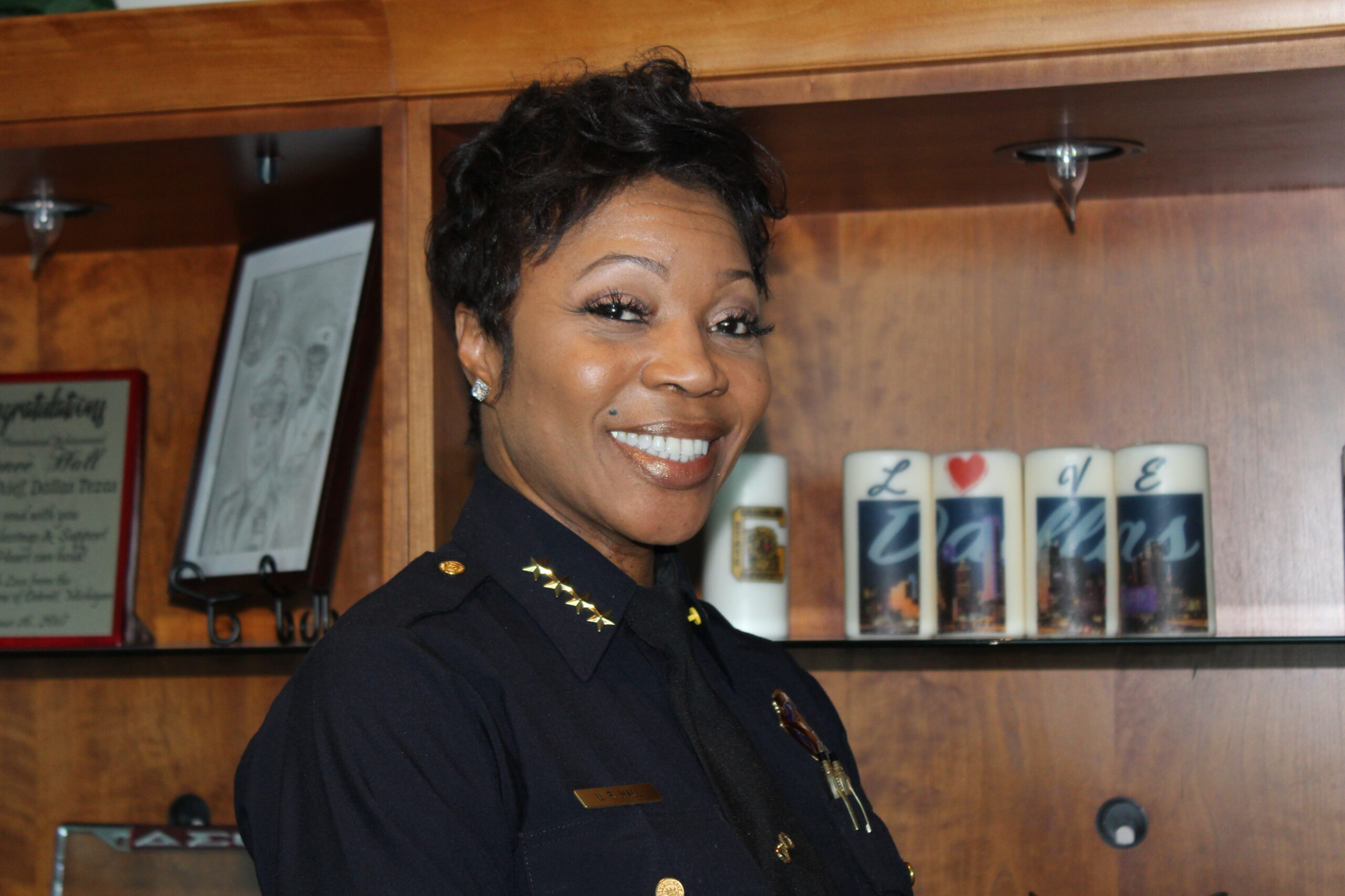 Dallas Police Chief U. Reneé Hall/ Photo by Eva D. Coleman