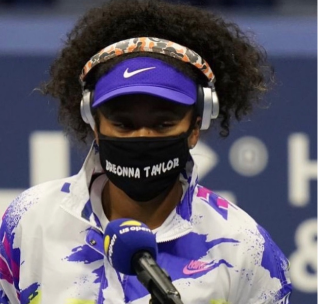 Naomi Osaka Uses U.S. Open to Advocate for BLM