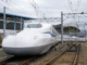 The Shinkansen N700 Supreme train is the planned vehicle for Texas Central Partners' high-speed rail line from Dallas to Houston. (Courtesy/Texas Central Partners)