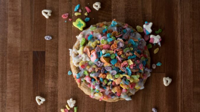 Cookie Society of Frisco makes fun Milk and Cereal cookies. (Cookie Society)