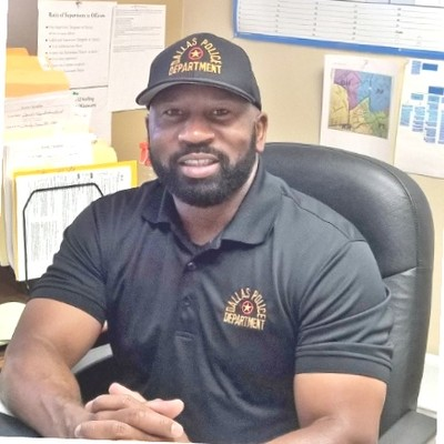 Terrance Hopkins,President Black Police Association/Twitter
