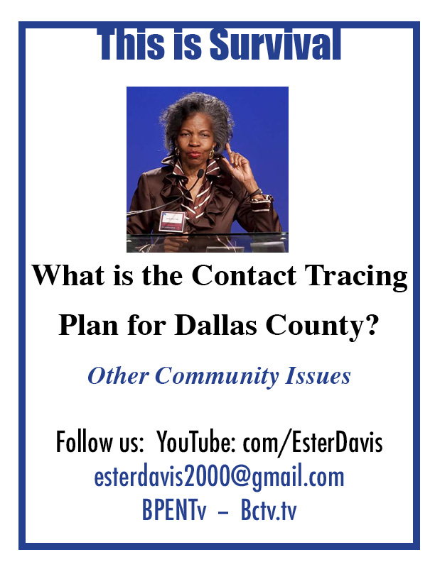 What is the Contract Tracing Plan for Dallas County?