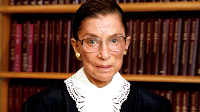 Ruth Bader Ginsburg portrait/Photo by Steve Petteway, Collection of the Supreme Court of the United States