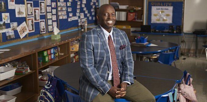 Eric Hale, Dallas ISD Texas Teacher of the Year