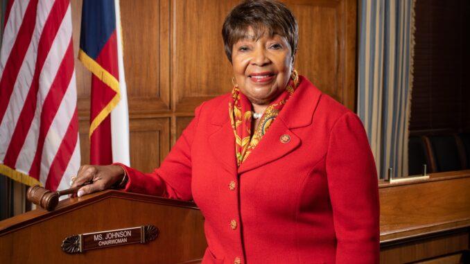 Photo Courtesy of Congresswoman Eddie Bernice Johnson